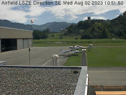 Bad Ragaz Flugplatz LSZE NW
